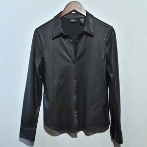 NY Jeans | Black Button-Down Shirt or Light Jacket